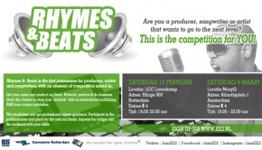 Rhymes & Beats website banner