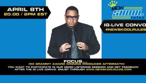 Focus... Banner EE2 site IG Live convo April 8th